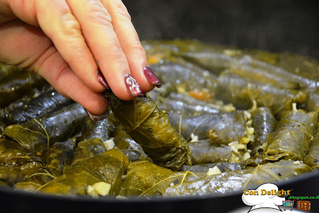 grape leaves עלי גפן ממולאים