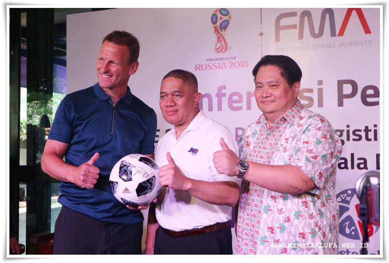 JNE Terpilih Sebagai Partner Logistik Resmi Piala Dunia 2018