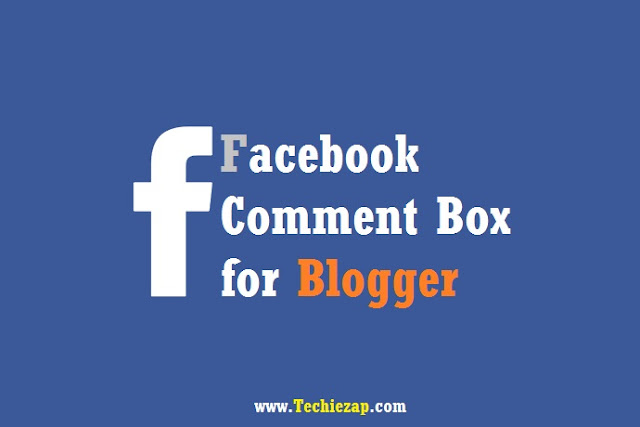 Facebook Comment Box for Blogger Blog