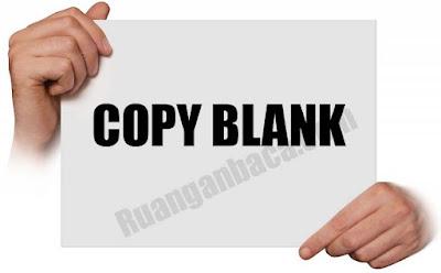 Cara Mengatasi Hasil Fotocopy Canon Blank Putih