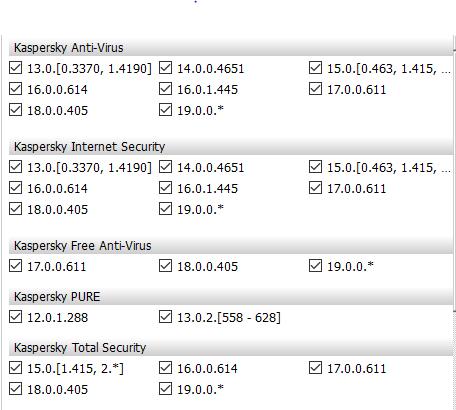 Kaspersky DataBase Update