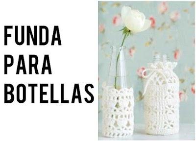 Fundas de Crochet para Botellas