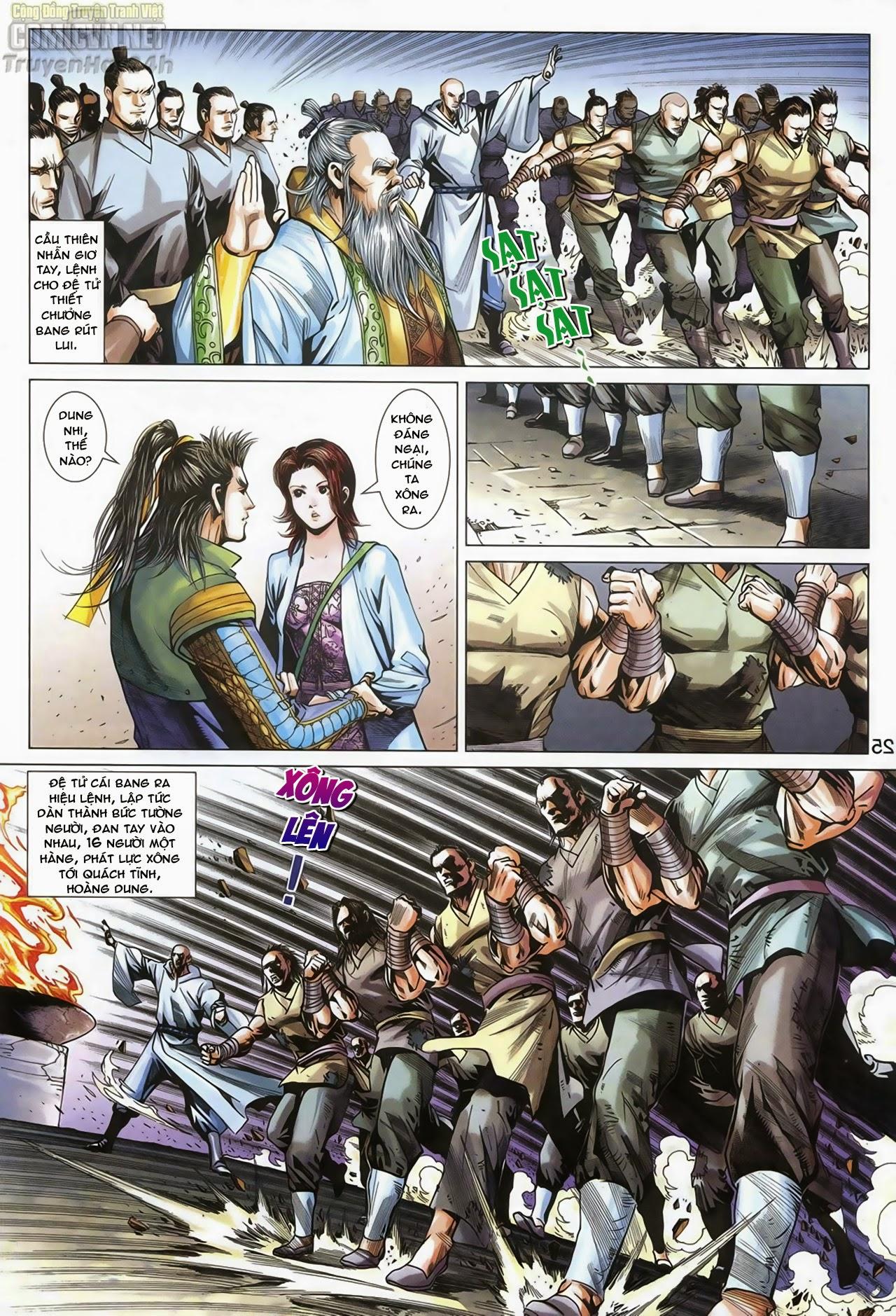 Anh Hùng Xạ Điêu anh hùng xạ đêu chap 67: quyết chiến hiên viên đài trang 24