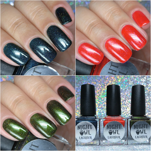 Night Owl Lacquer - Gone Camping Trio
