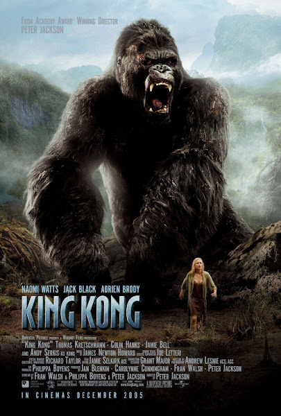 Poster Of King Kong 2005 ExTended 720p Hindi BRRip Dual Audio Full Movie Download