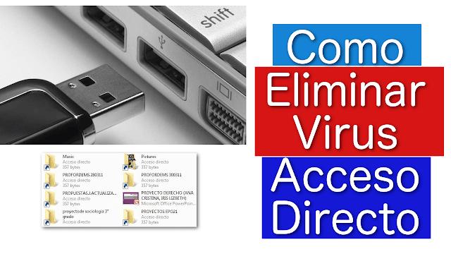 Cómo quitar el virus de acceso directo desde su PC o Pendrive