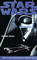 Star Wars movie cover with the face of Darth Vader