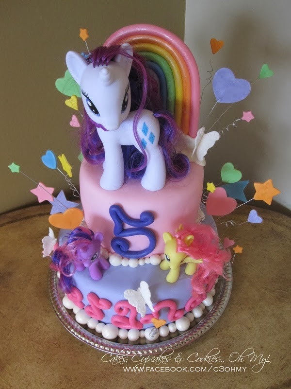 Decoración de Fiesta de Cumpleaños de My Little Pony   Fiestas y ...
