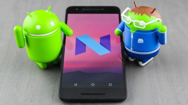 Daftar lengkap hp smartphone yang dapat update Android Nougat 7.0