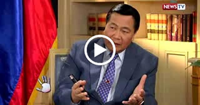 Acting Chief Justice Carpio pinaliwanag ang Epekto ng $24Billion Loan sa China.