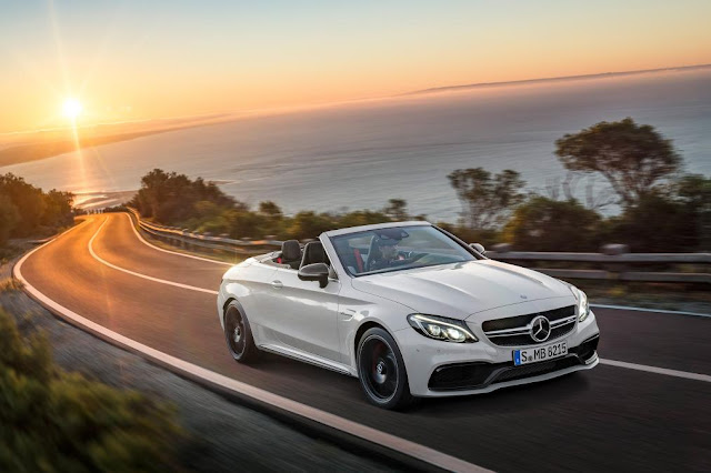 Unveiled New Mercedes-AMG C 63  front view