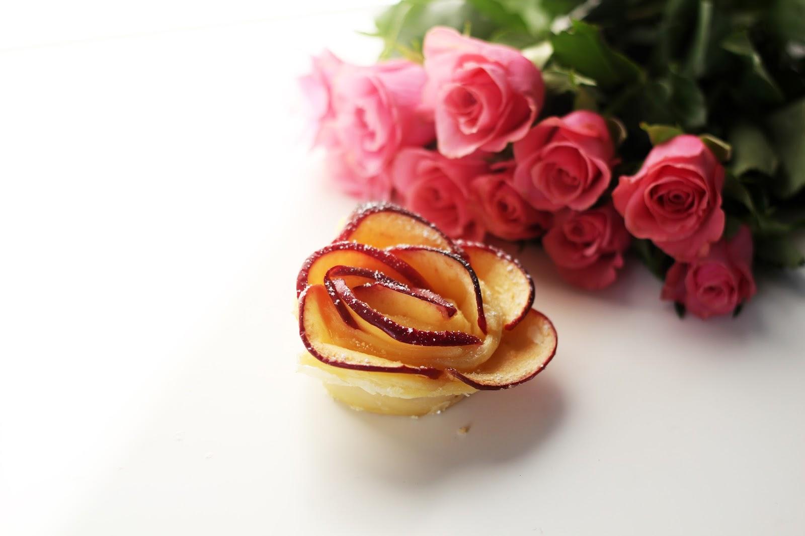 Rezept: Apfel-Blätterteig-Rosen http://www.lootieloosplasticworld.de