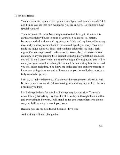 10 Contoh Surat Pribadi Dalam Bahasa Inggris
