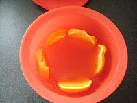Tequila Sunrise Jelly Jello Tupperware red expressions bowl