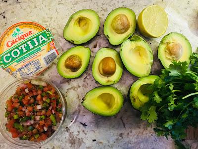 California Avocado love and guacamole