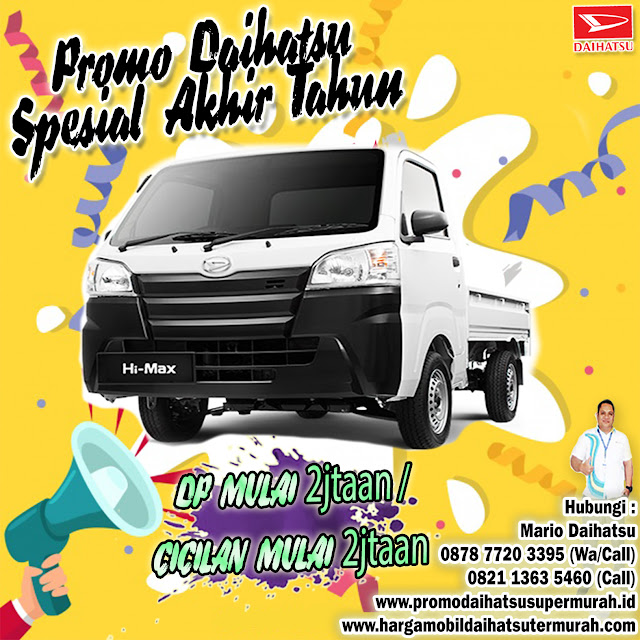 harga daihatsu hi max