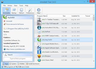 تنزيل برنامج حذف البرامج المستعصية Uninstall Tool