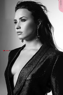 Demi Lovato in Lingerie Tell Me You Love Me Album revealing Photoshoot