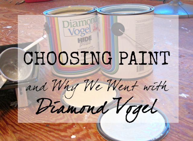 Diamond Vogel paint review and farmhouse paint colors local affordable great service quality paint