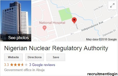 Apply For Nigeria Nuclear Regulation Authority | NNRA Application Form Portal