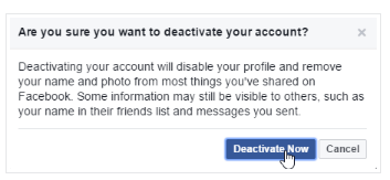 How To Completely Deactivate Fb Account