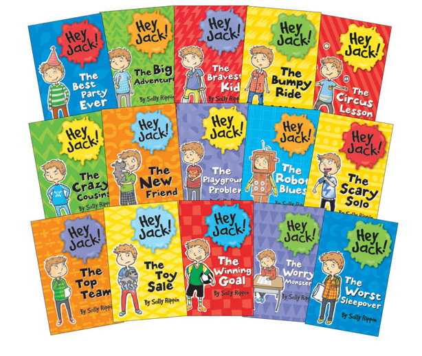 Hey Jack! by Sally Rippin, Hey Jack books, Usborne books, Billie B. Brown books, Sally Rippin, new reader chapter books, Hey Jack series, Hey Jack chapter books
