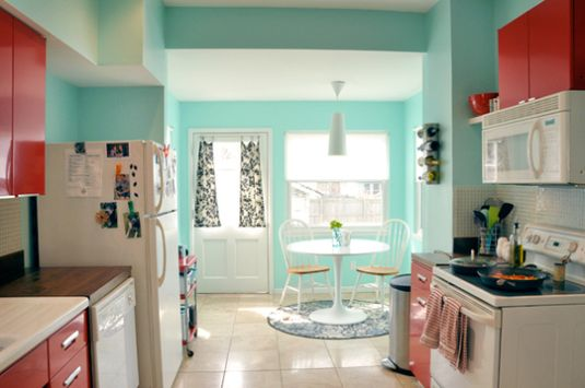 Kitchen Colors With White Cabinets Design