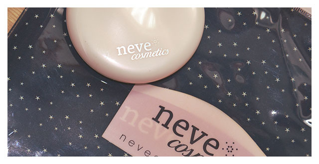 Alabaster Touch Neve Cosmetics Preview