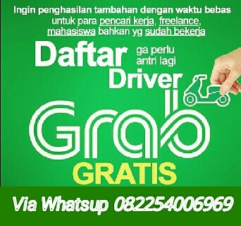 Daftar Grabcar Dan Grabike Via Whatsapp Masoek