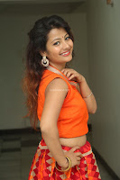 Shubhangi Bant in Orange Lehenga Choli Stunning Beauty ~  Exclusive Celebrities Galleries 046.JPG