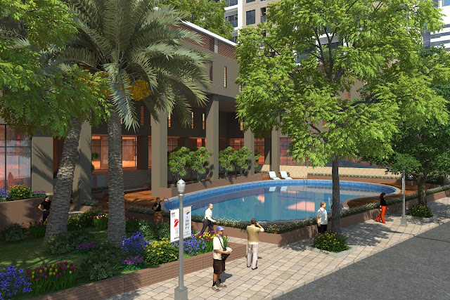 Bể bơi ngoài trời tại Gemek Premium