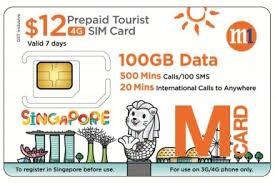 Sim Card Singapura