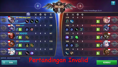 Cara Agar Pertandingan Invalid (AFK) di Mobile Legends
