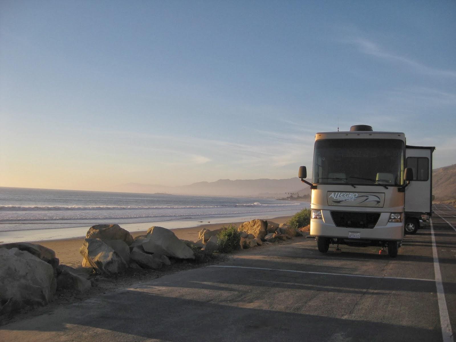 Campgroundcrazy The Rincon Parkway Campground Ventura