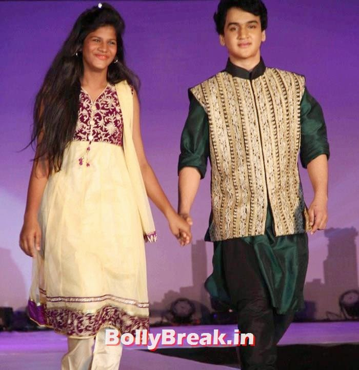 Faisal Khan, Ex Bigg Boss Contestants at Welingkar's Tribute Fashion Show 2014
