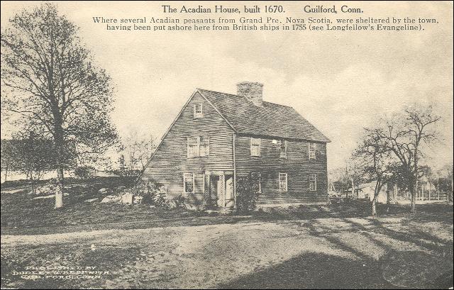 Plusieurs paysans acadiens se réfugièrent à Guilford