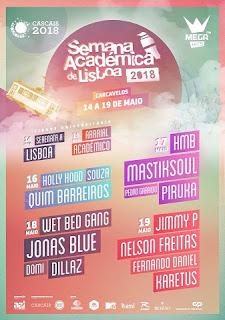 Programa Semana Académica de Lisboa 2018