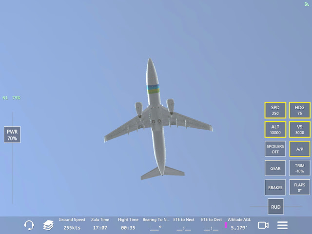 B737 dans Infinite Flight