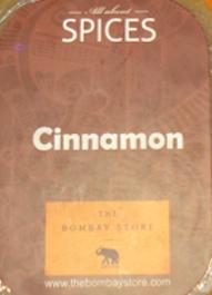 The Bombay Store Cinnamon Soap