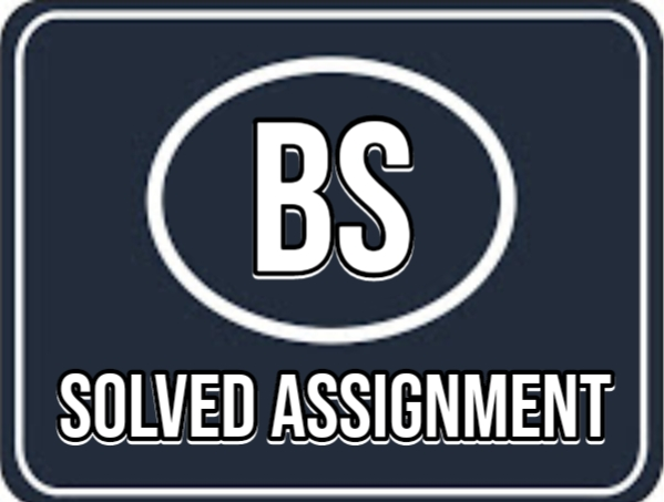 BS Solved Assignment
