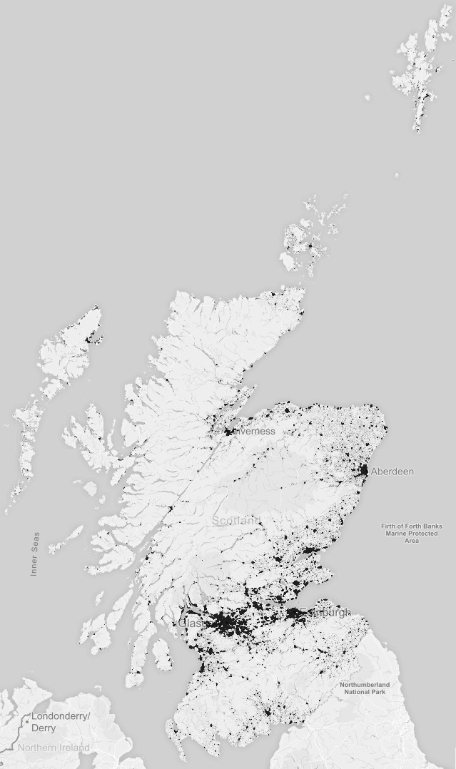 Mapping every person in Scotland