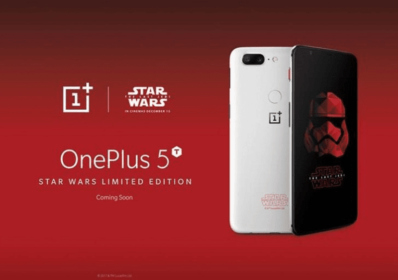 OnePlus 5T Star Wars Limited Edition announced in India