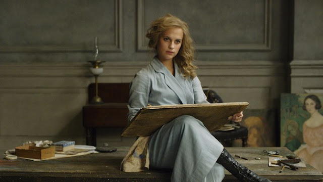 Alicia Vikander as Gerda Wegener in The Danish Girl