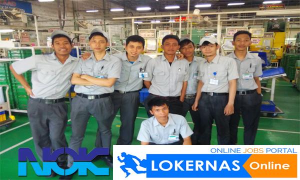 Peluang Kerja Bagian Operator Produksi di PT Nippon Oilseal Kogyu (NOK) (Lulusan SMA/SMK/Setara)