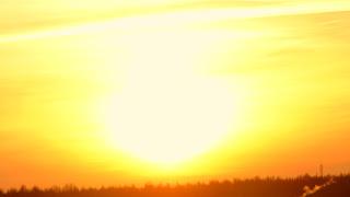 Солнечный закат 2 декабря 2016 Солнечный луч