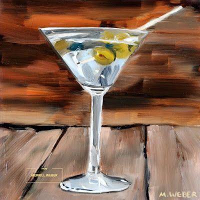martini-oil-painting-merrill-weber