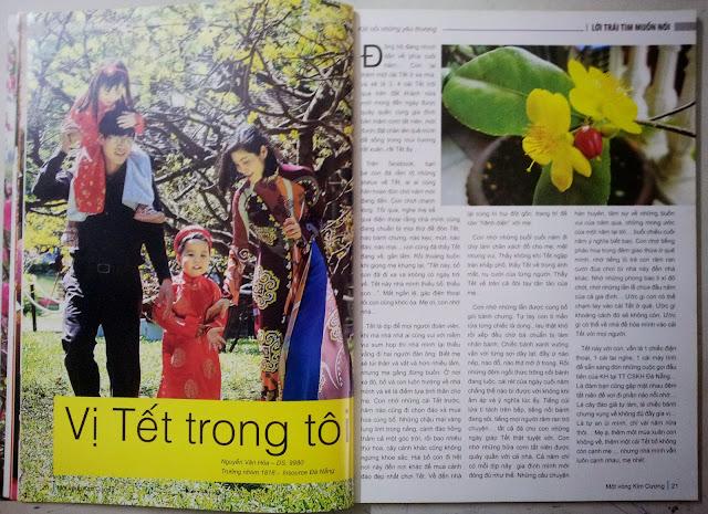 Sản phẩm làm báo, tạp chí của học viên tại Sơn Tây
