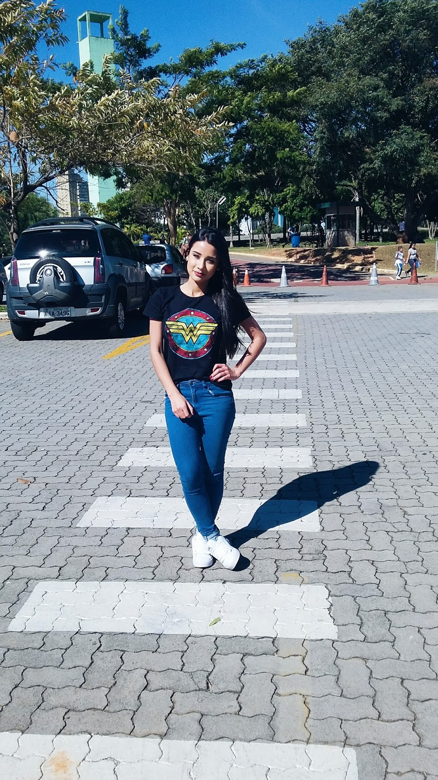 Look do dia: Calça Jeans + T-Shirt