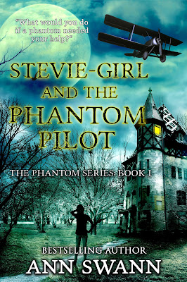 Stevie-Girl and the Phantom pilot cover