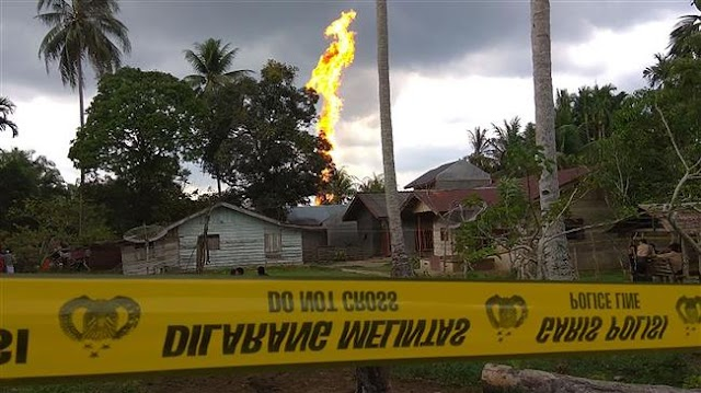 At least 10 Killed, dozens injured in Indonesia oil well fire